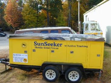 Mobile Solar Power Inc Solar Trailer